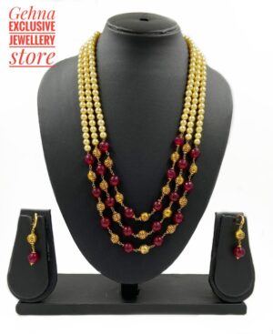Red Jade Triple Layer