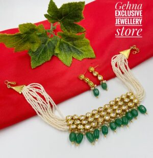 kundan Choker For Girls