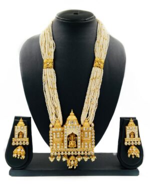 Temple Design Necklace Set