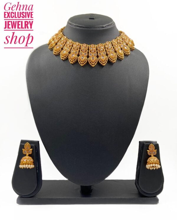 Ethnic Golden Necklace Set