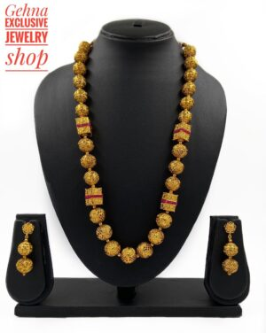 Fancy Golden Mohan Mala