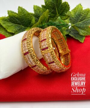 Antique Ruby Stone Bangles