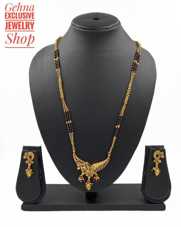 Gold Plated Mangalsutra Design