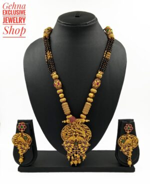 Antique Golden Mangalsutra
