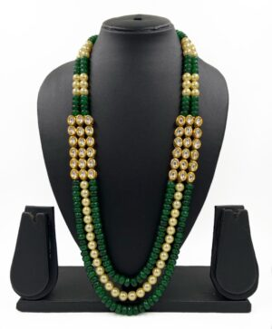 Layered Beaded necklace for men