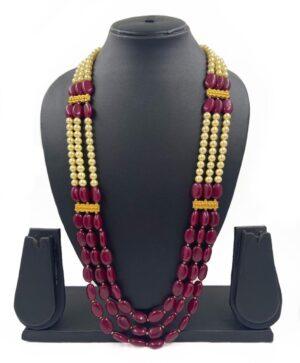 layred Grooms Beaded necklace
