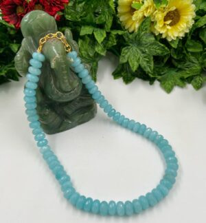 Single Strand Skyblue Mala