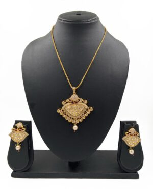 Kundan Pendant Necklace Sets