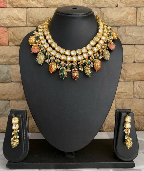 Habdcrafted Kundan Necklace Set
