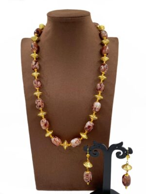 Stone Beads Necklace Online