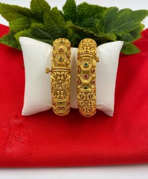 Antique Golden Bangle