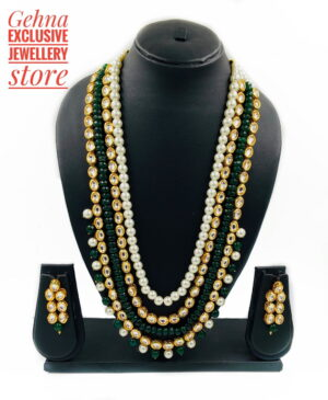 Multi Layer Kundan Necklace