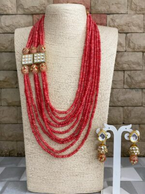 Multilayered Beaded Necklace
