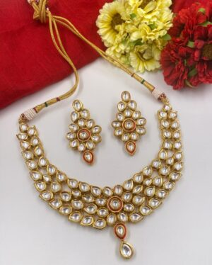 Kundan Necklace Set Wedding