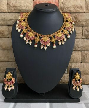 Gold Plated Temple Jewellery