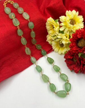 Green Beads necklace