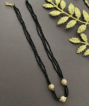 Beaded Mangalsutra Necklace