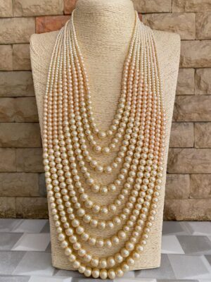 Multi Layered Pearls Necklace