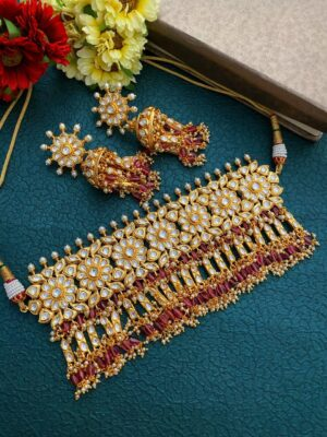 Bridal Kundan Choker Necklace