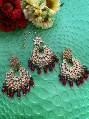 MaangTikka earrings Set