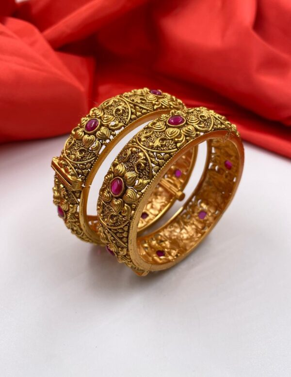 Latest Gold Plated Kangan