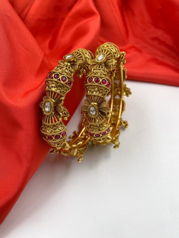 Traditional New Golden Bangles