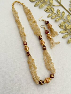 beaded necklaces for women