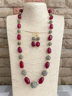 latest beds necklace designs