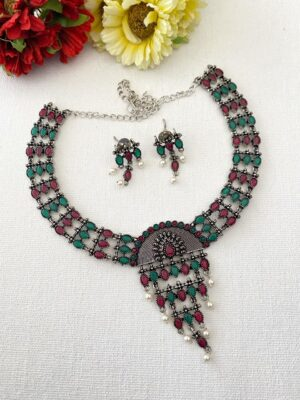 Tribal Look Necklace Set