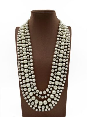 Latest Pearls Necklace Designs