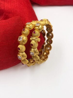 Gold Plated New Bangles