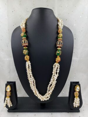 Layered Pearls Necklace