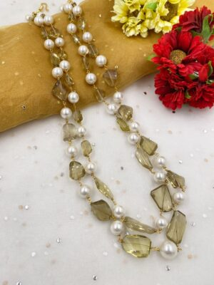 Beads Necklace For Sarees
